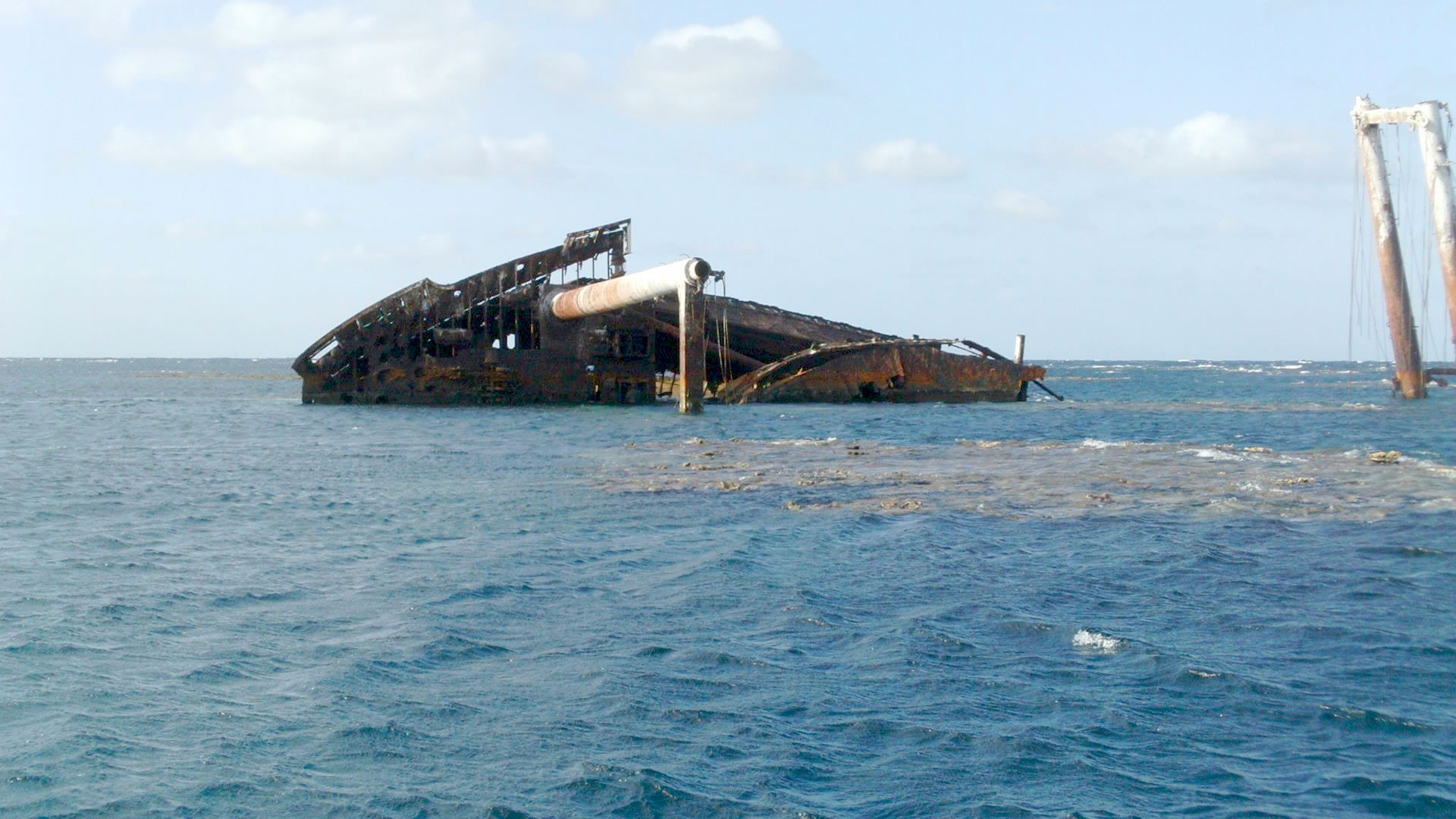 shipwreck of Polyxeni 2013