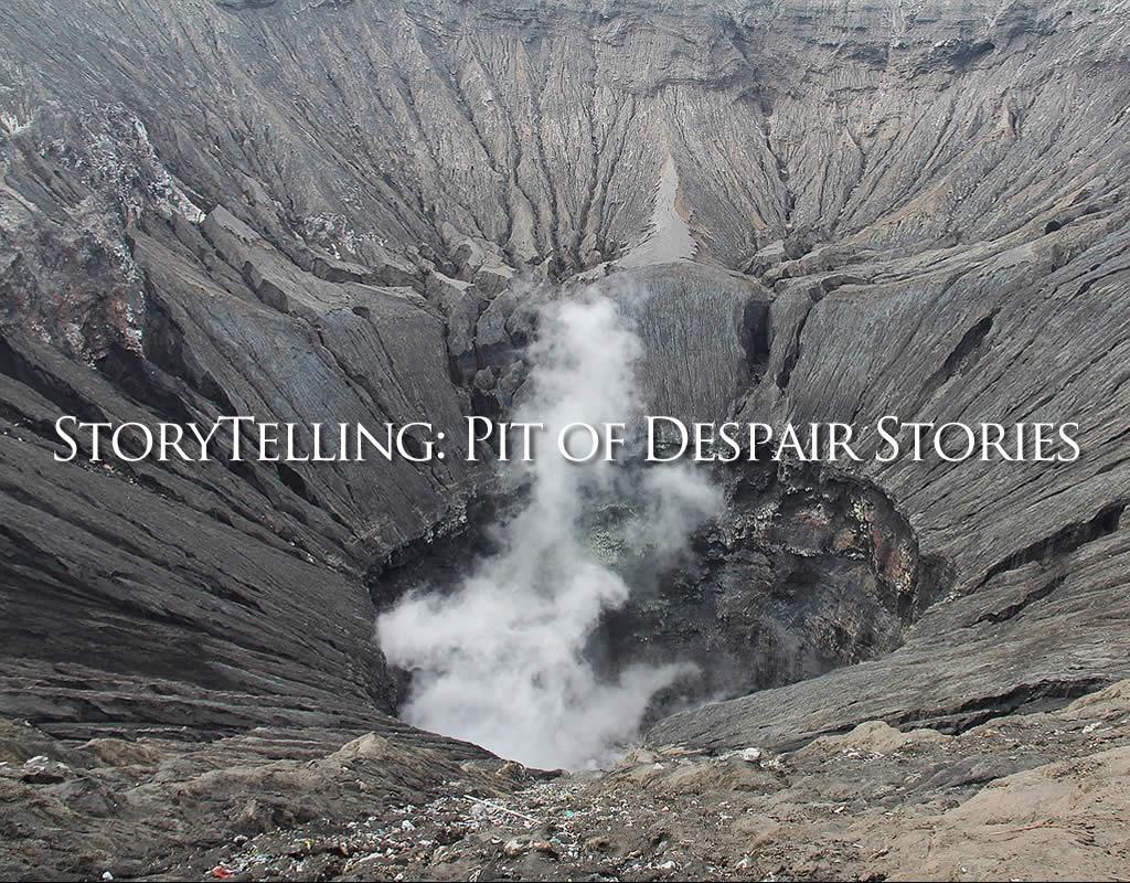 pit of despair stories header graphic