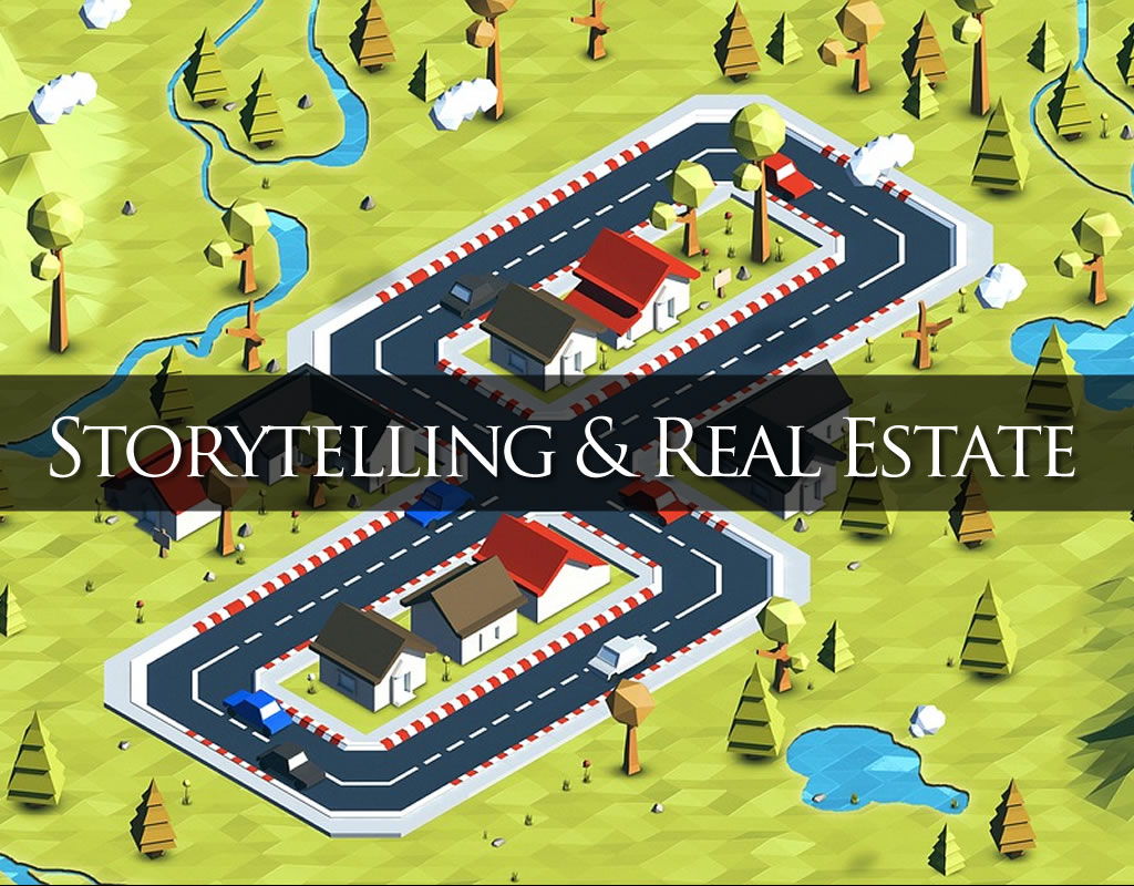 real estate and storytelling header